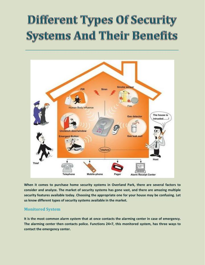 When it comes to purchase home security systems in Overland Park, there are several factors to
