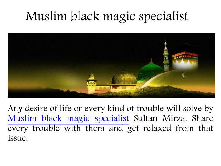 Muslim black magic specialist