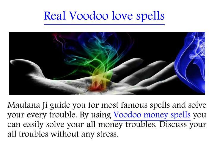 Real Voodoo love spells