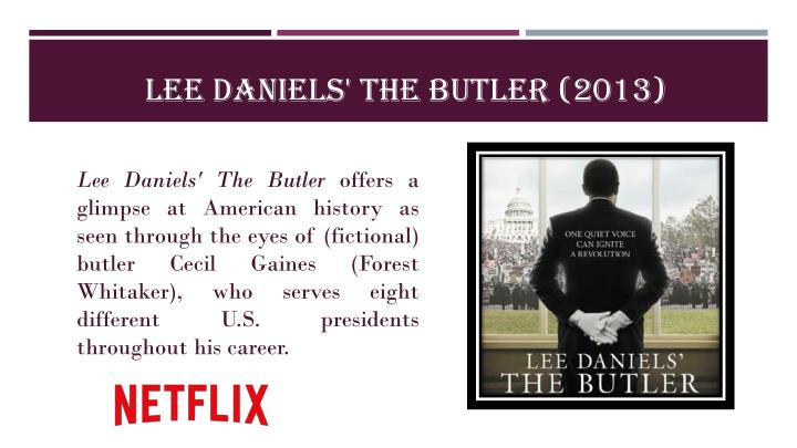 Lee Daniels' The Butler (2013