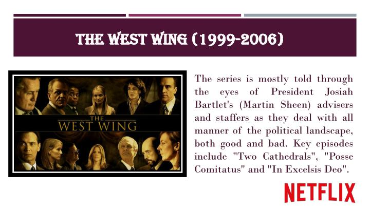 The west wing 1999 2006