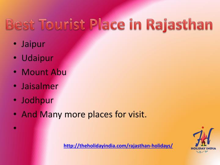 Best Tourist Place