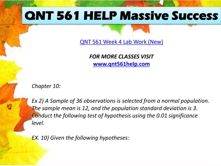 QNT 561 HELP Massive Success