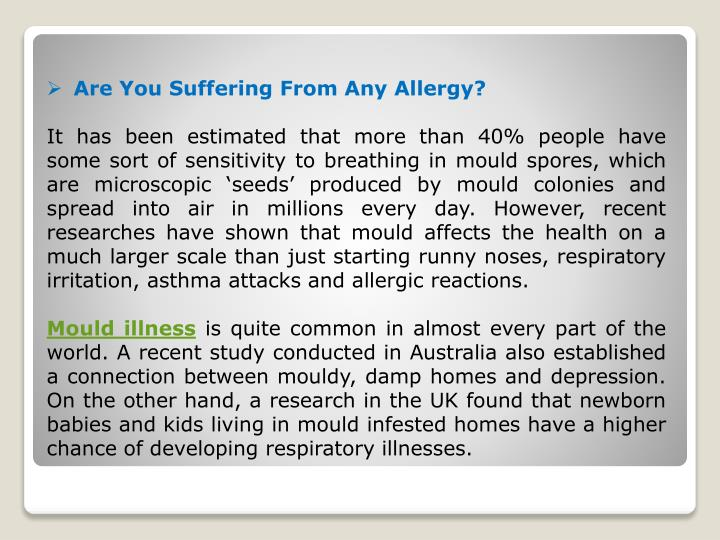 Are You Suffering From Any Allergy?