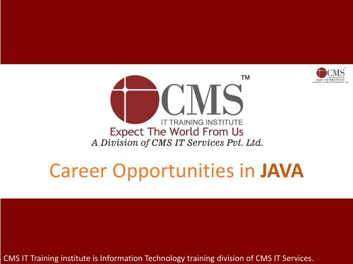 Career Opportunities in