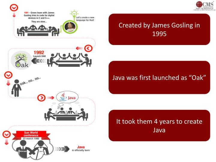 Created by James Gosling in 1995