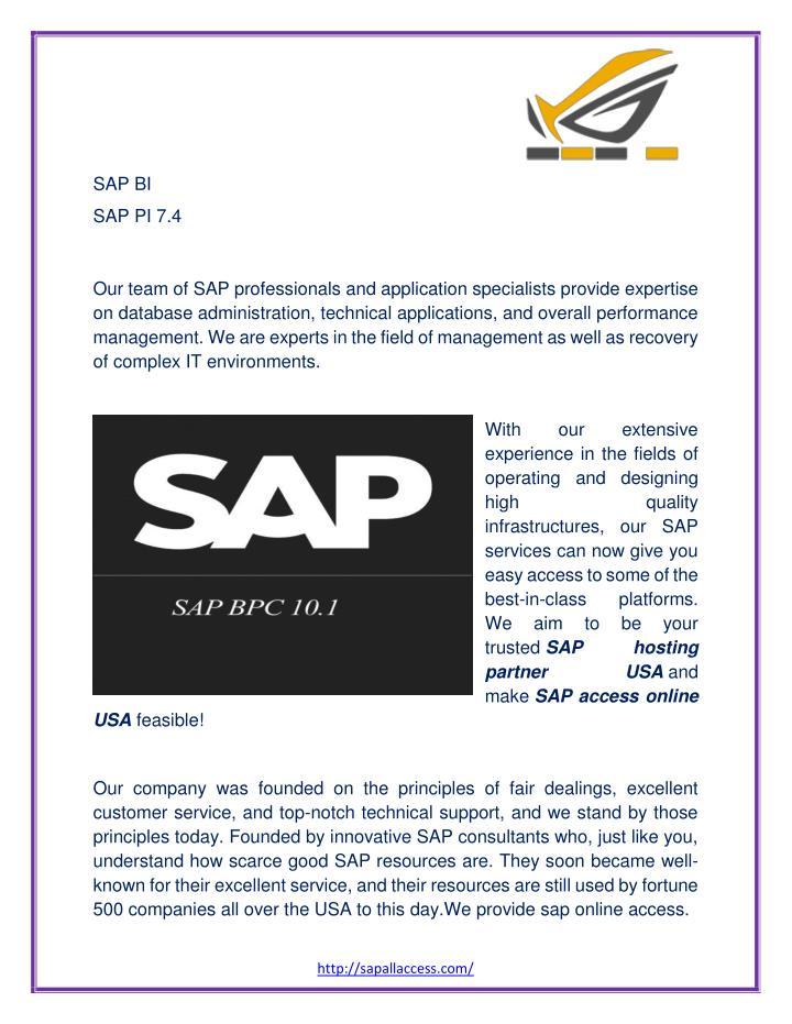SAP BI