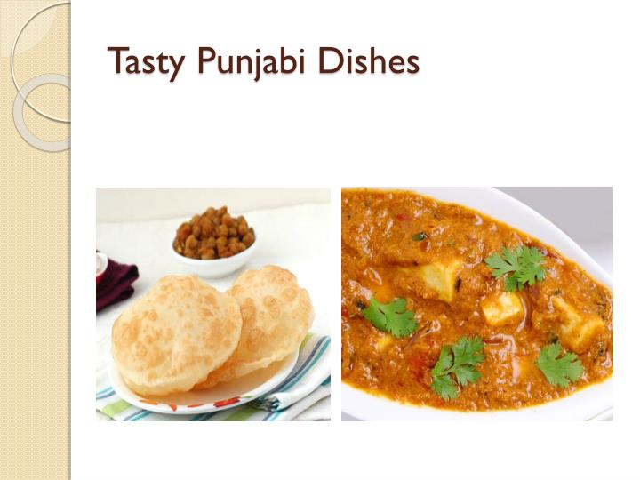 Tasty Punjabi Dishes
