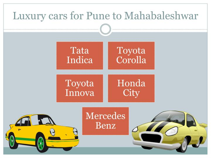 Luxury cars for pune to mahabaleshwar