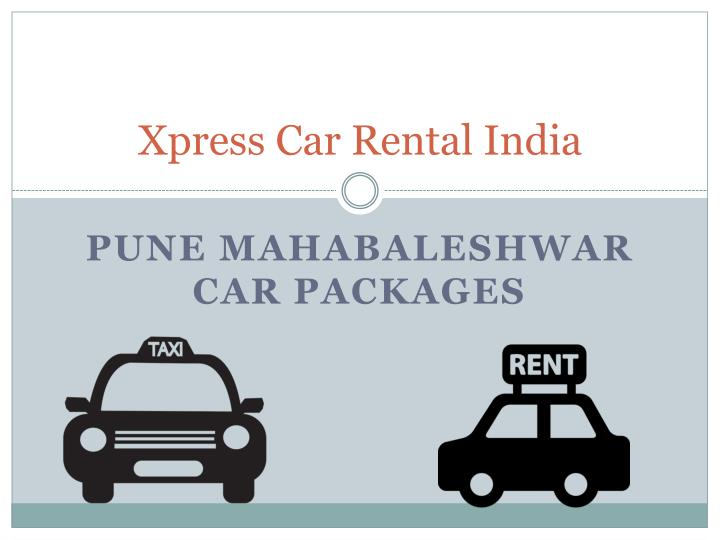 Xpress car rental india