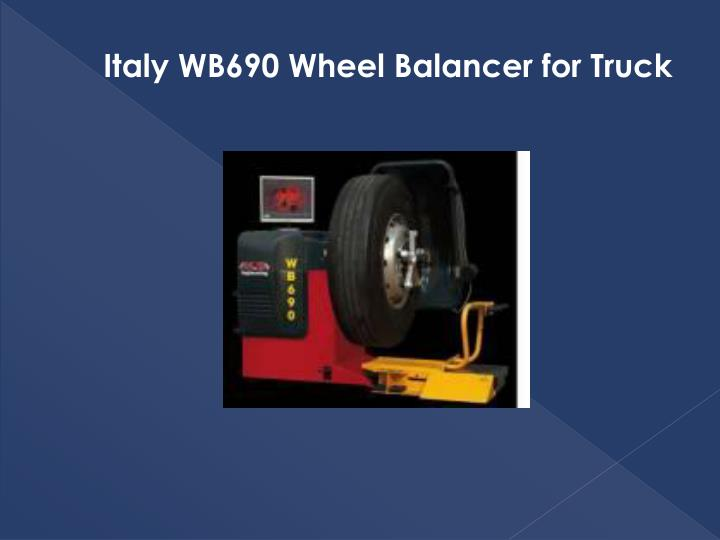 Italy WB690 Wheel Balancer for Truck