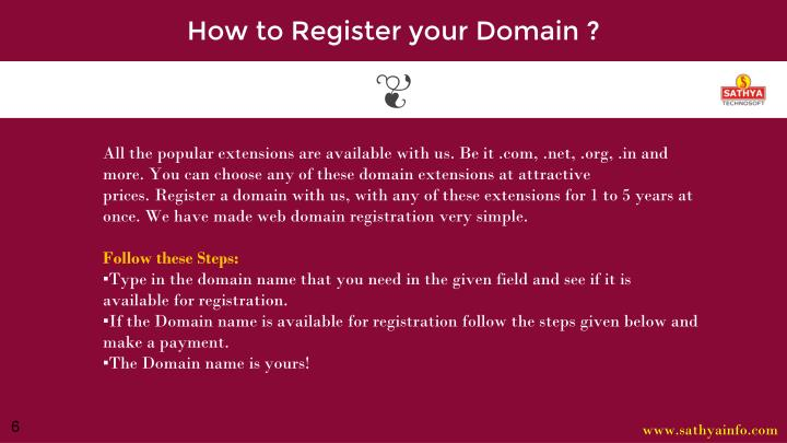 How to Register your