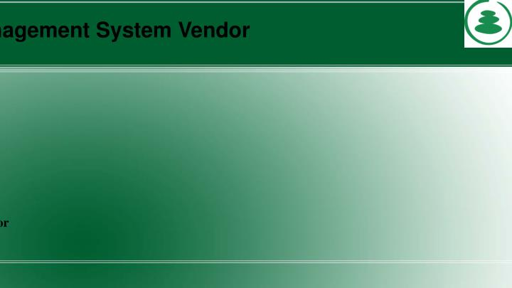 School Management System Vendor