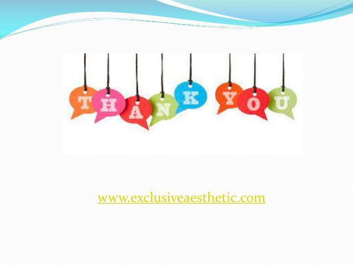www.exclusiveaesthetic.com