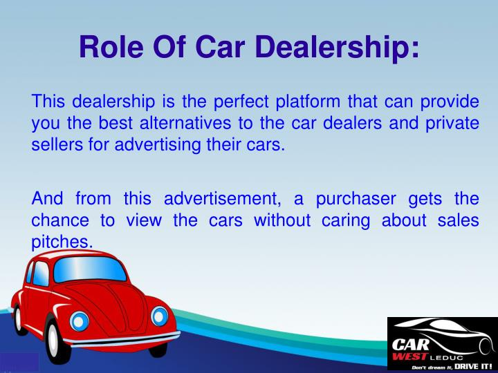 This dealership is the perfect platform that can provide you the best alternatives to the car dealers and private sellers for advertising their cars.