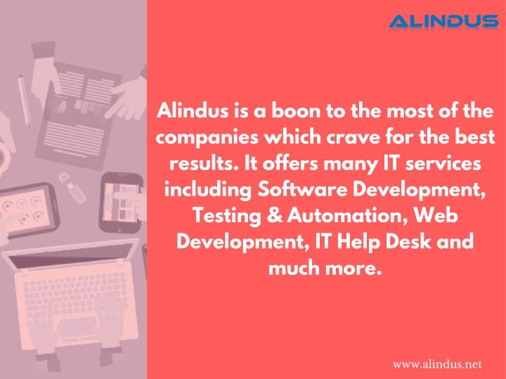 Alindus is a boon to the most of the