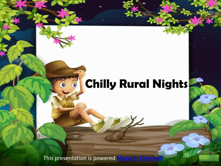 Chilly Rural Nights