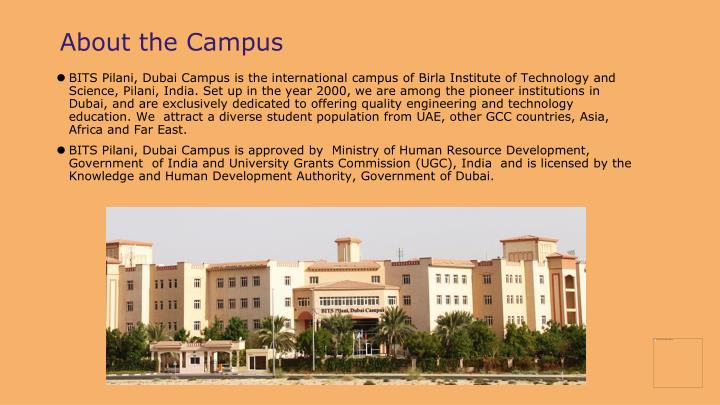 About the Campus