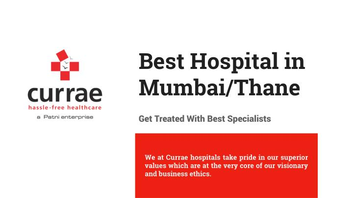 Best hospital in mumbai thane