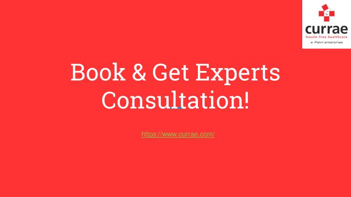 Book get experts consultation