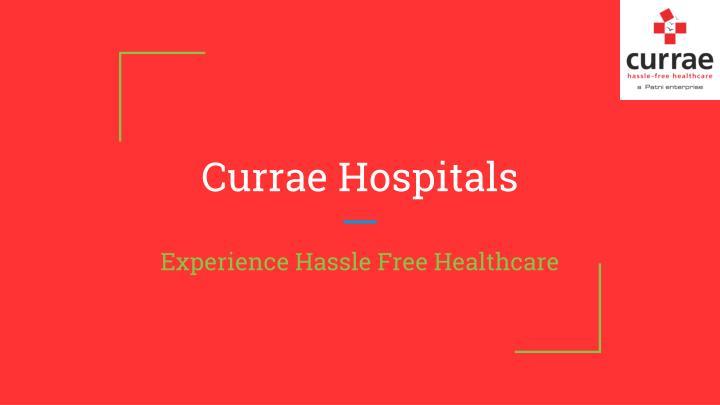 Currae Hospitals