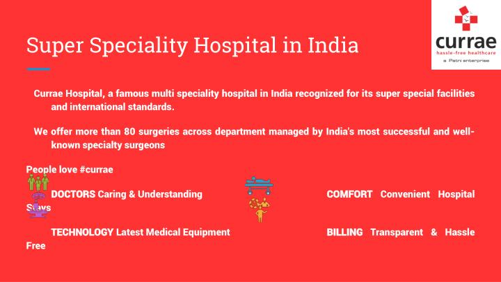 Super Speciality Hospital in India