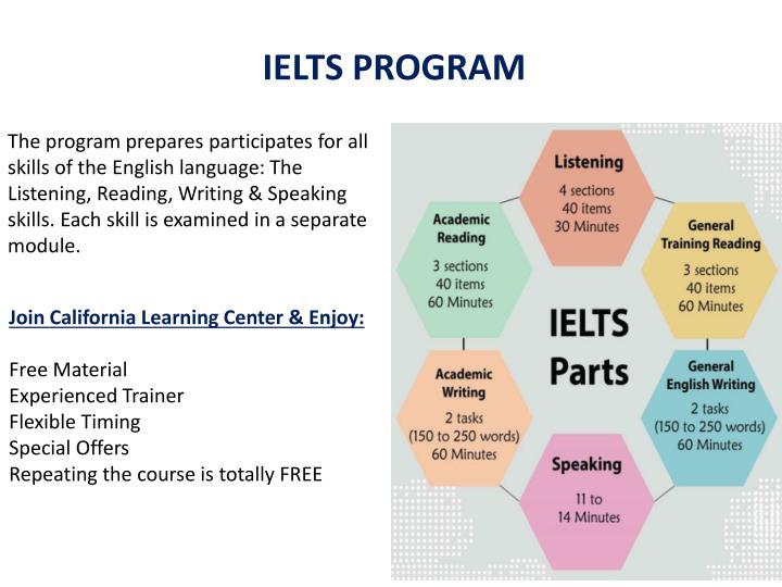 IELTS PROGRAM