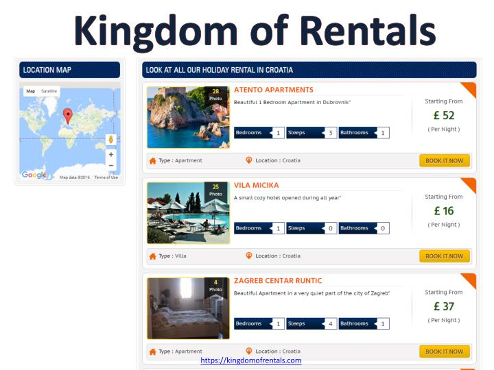 Kingdom of Rentals