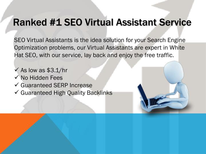 Ranked #1 SEO Virtual Assistant