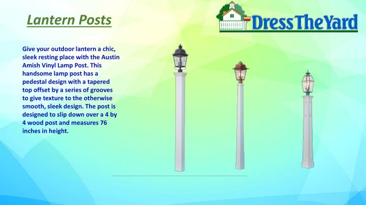 Lantern Posts