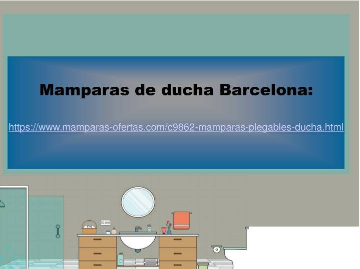 Mamparas de ducha Barcelona:
