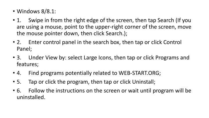 Windows 8/8.1: