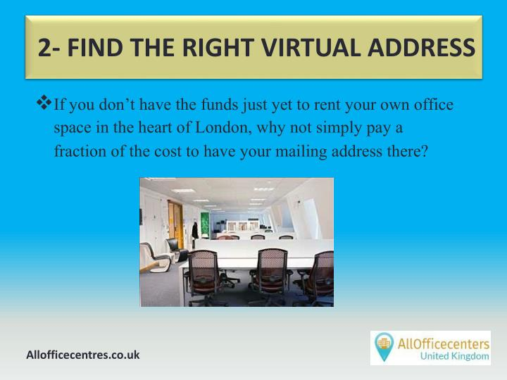 2 find the right virtual address