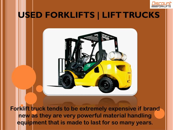 USED FORKLIFTS | LIFT TRUCKS