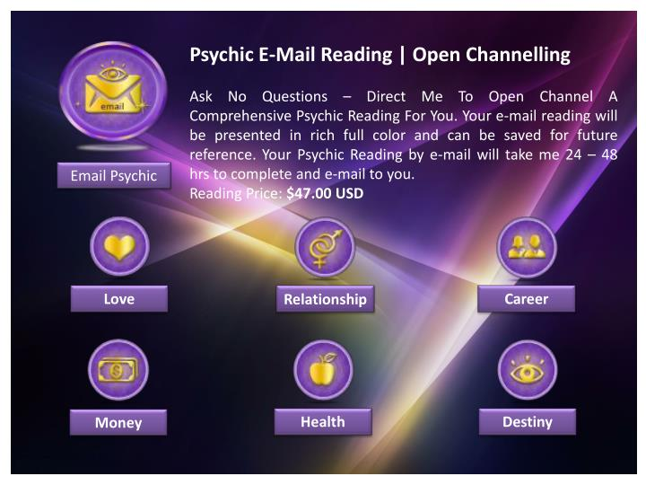 Psychic E-Mail Reading | Open