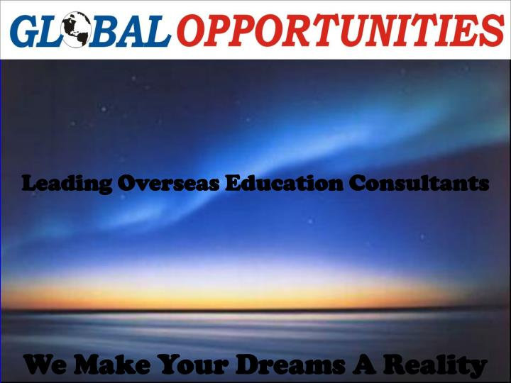 Leading Overseas Education Consultants