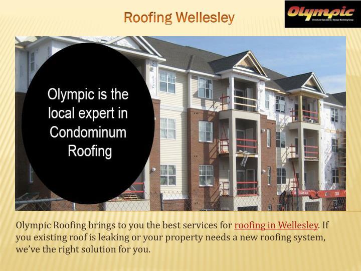 Roofing Wellesley