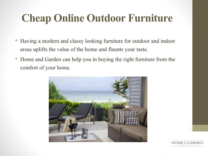Cheap Online Outdoor Furniture