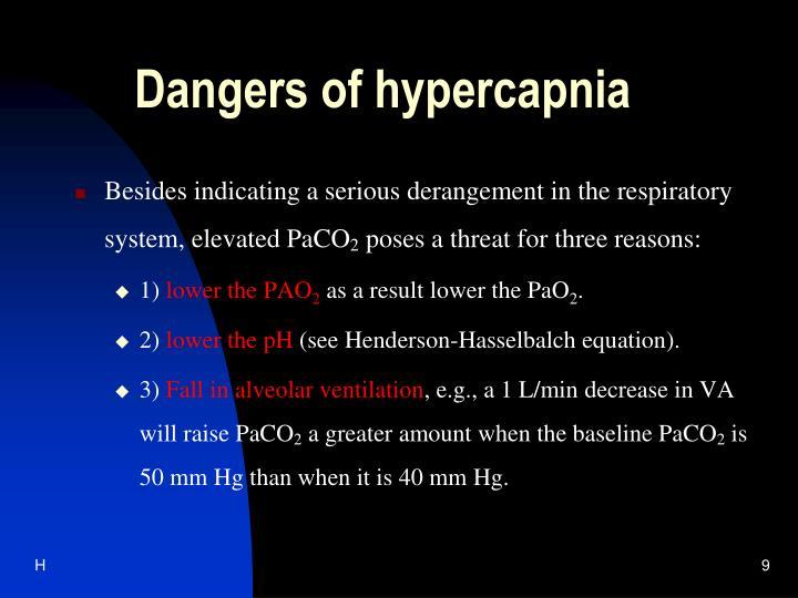 Dangers of