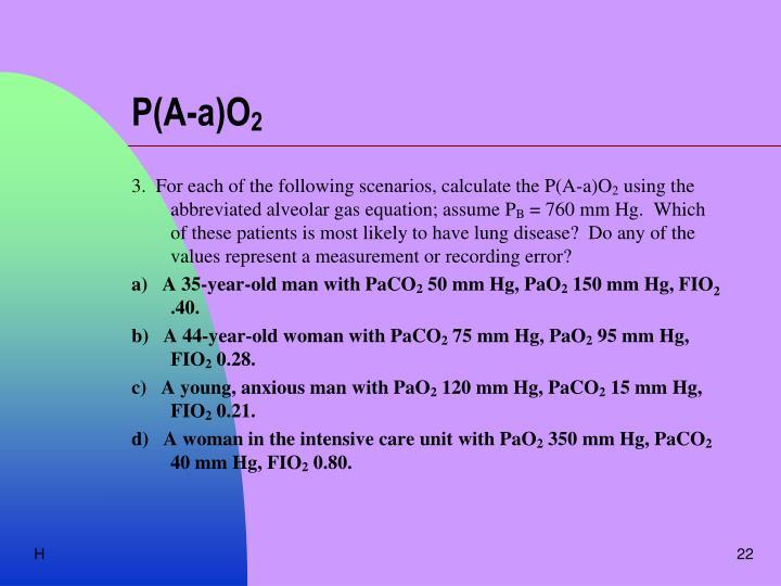 P(A-a)O
