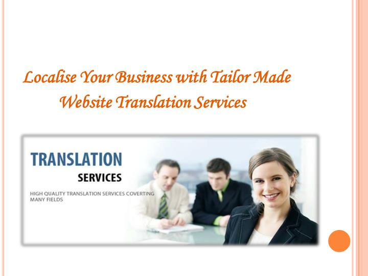 Localise Your Business with Tailor Made