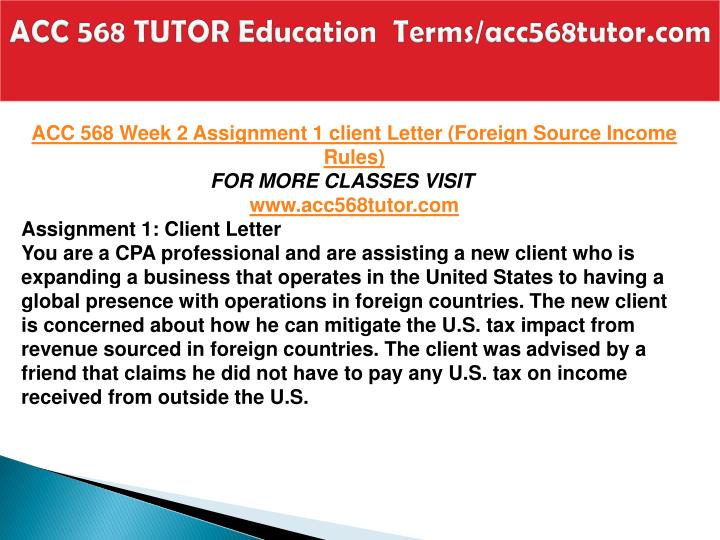 Acc 568 tutor education terms acc568tutor com2