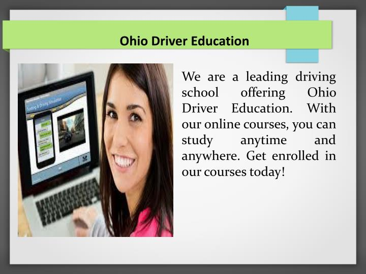 Ohio Driver Education