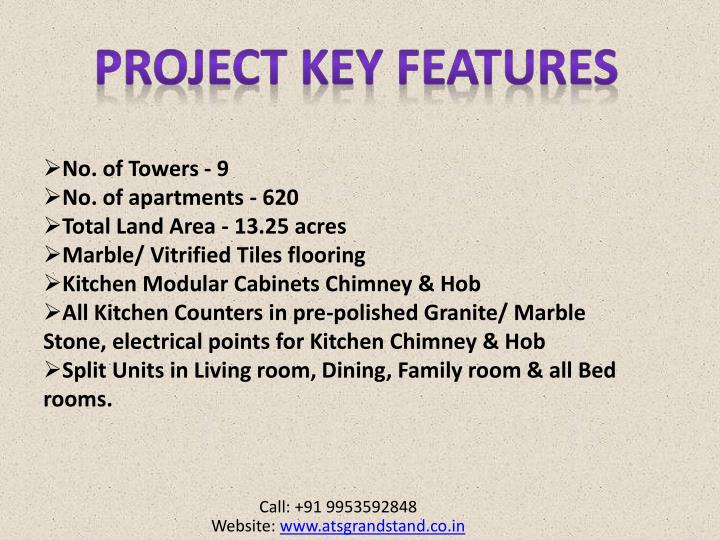 Project KEY FEATURES
