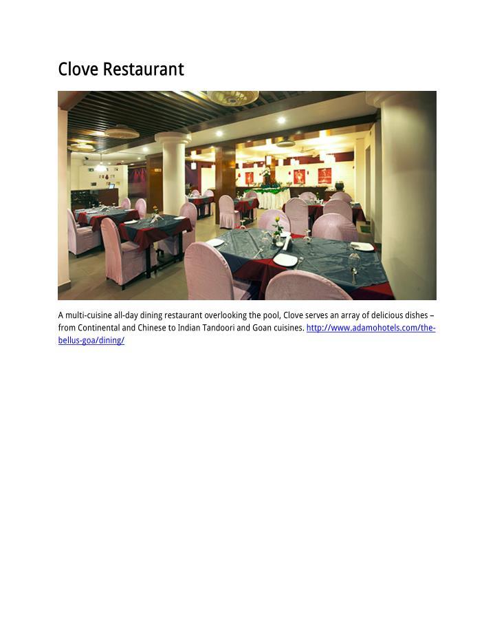 Clove Restaurant