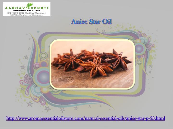 Anise Star Oil