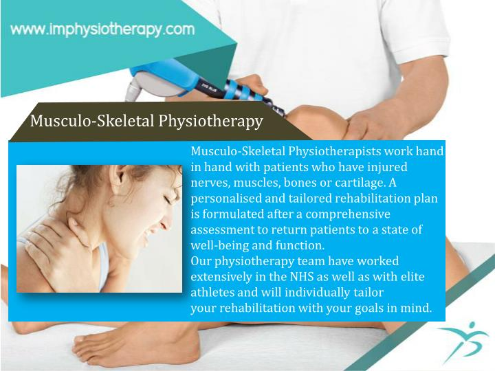 Musculo-Skeletal Physiotherapy