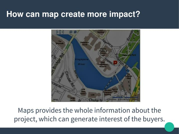 How can map create more impact?