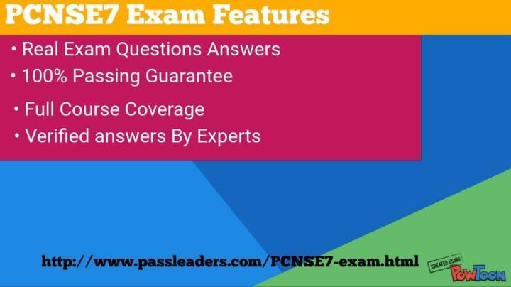 Pcnse7 exam questions