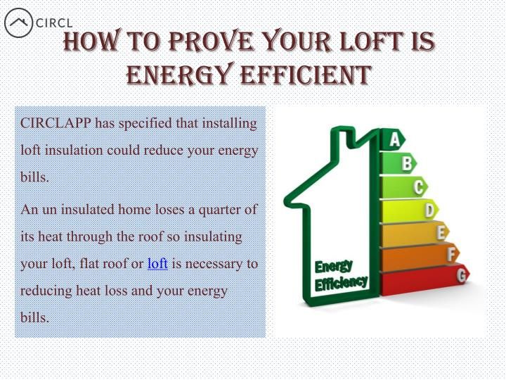 How to prove your loft is energy efficient